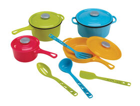 Just Like Home - Pots & Pans With Utensils Set