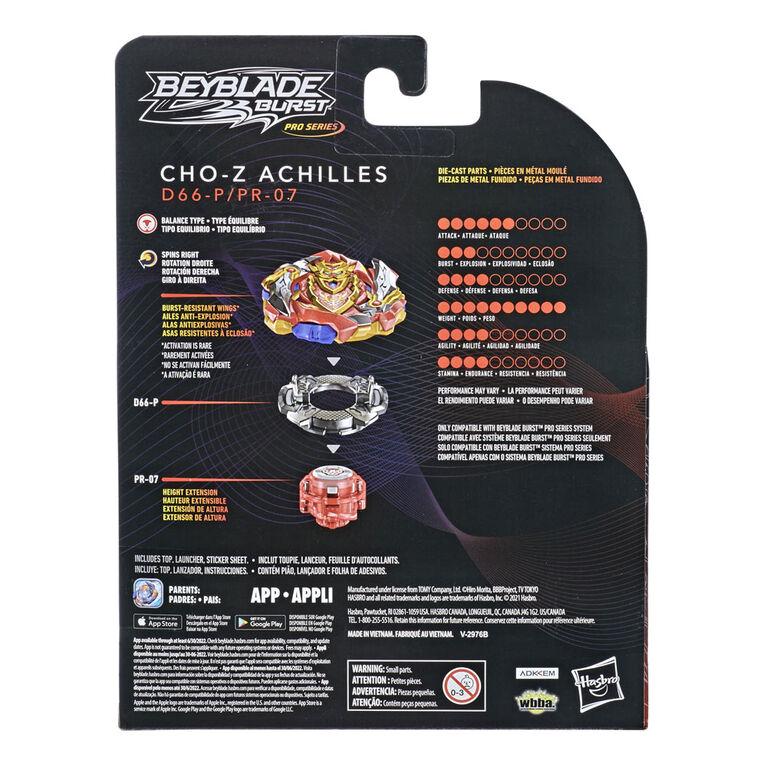 Beyblade Burst Pro Series Cho-Z Achilles Spinning Top Starter Pack