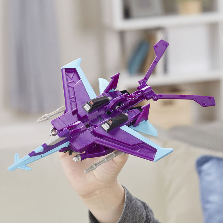 Transformers Cyberverse Action Attackers - Figurine Slipstream de classe ultra