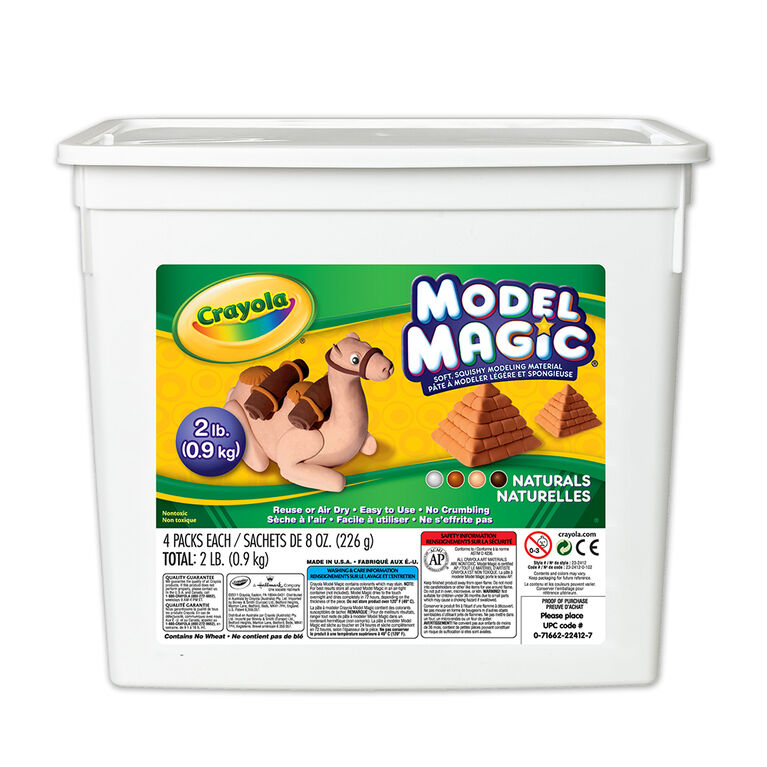 Bac de Crayola pâte à modeler Model Magic, naturelles 907g