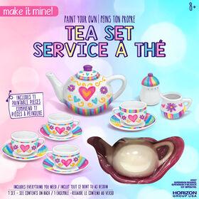 Make It Mine Paint Your Own Tea Set