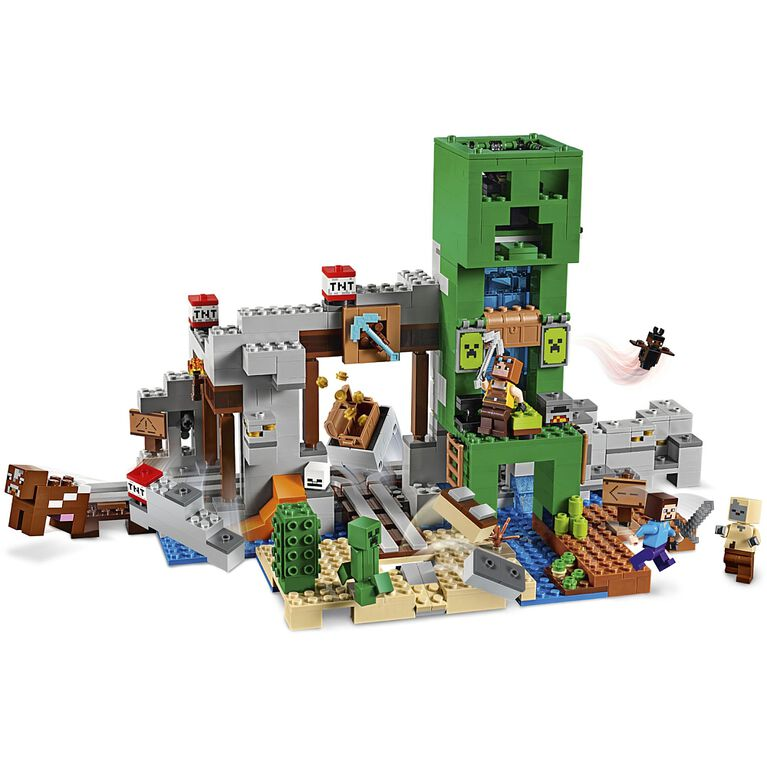 LEGO Minecraft The Creeper TM Mine 21155