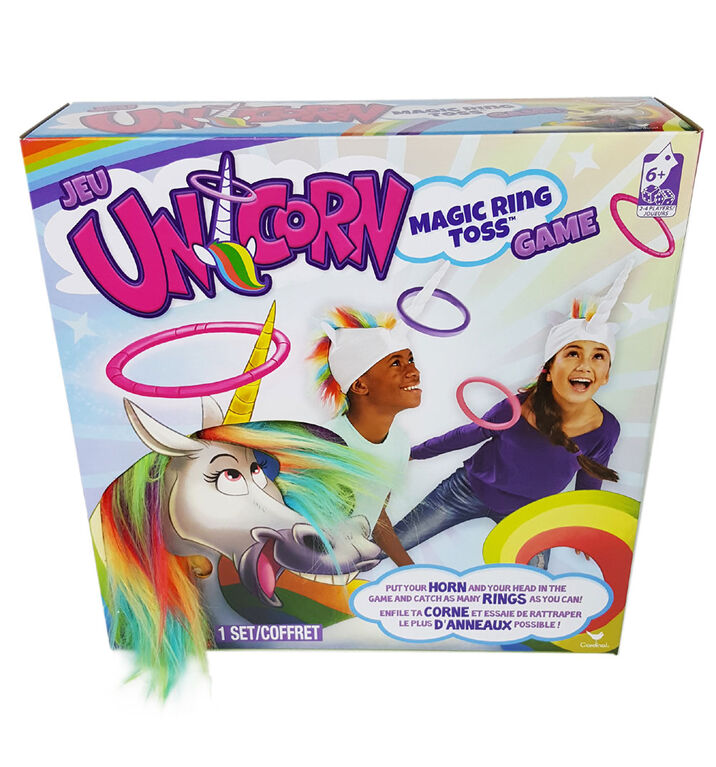 Unicorn Magic Ring Toss Jeu