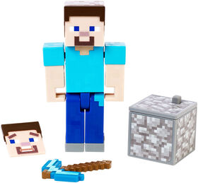 Minecraft Comic Maker Steve Action Figure - English Edition