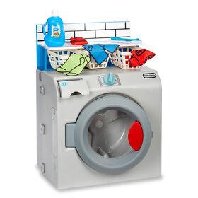 Premier lave-linge/sèche-linge Little Tikes : appareil de jeu réaliste