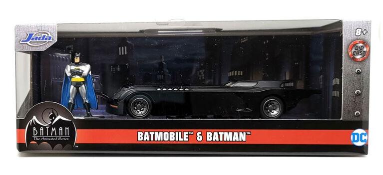 Batmobile 1:32 With Figure