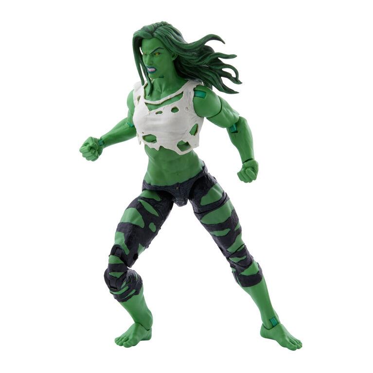 Hasbro Marvel Legends Series, figurine de collection She-Hulk de 15cm et 3accessoires