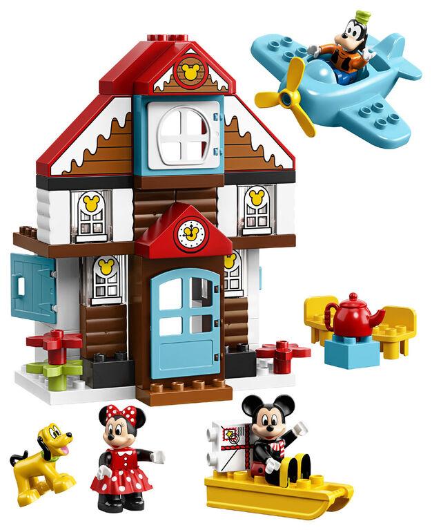 LEGO DUPLO Disney TM La maison de vacances de Mickey 10889