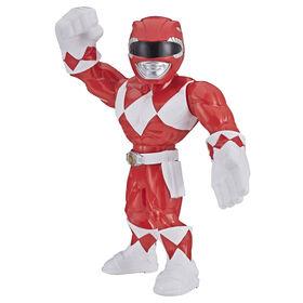 Playskool Heroes Mega Mighties Power Rangers : figurine Ranger rouge de 25 cm