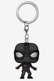 Funko POP Keychain! Marvel: Spider-Man far From Home - Spider-Man Stealth Suit Vinyl Figure