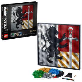 LEGO ART Harry Potter Les blasons de Poudlard 31201
