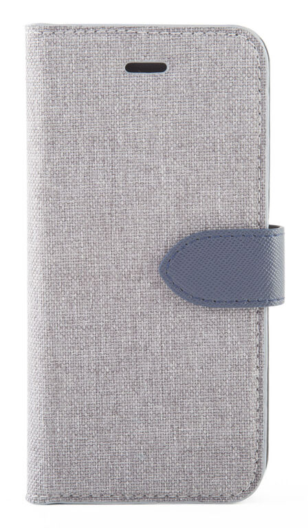 Blu Element 2 in 1 Folio Case for iPhone 8/7/6S/6 Gray/Blue (B21I7GR)