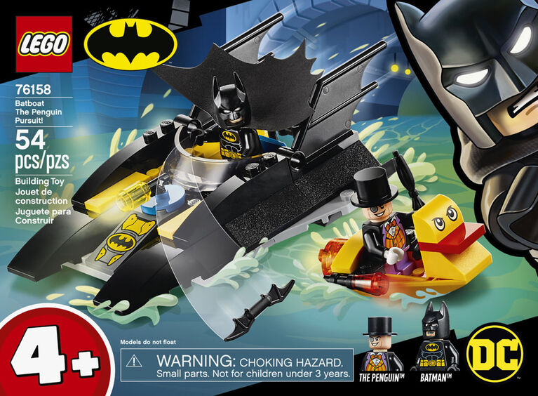 LEGO Super Heroes Batboat The Penguin Pursuit! 76158