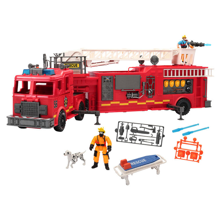 Rescue Force Giant Fire Engine Deluxe Set - R Exclusive