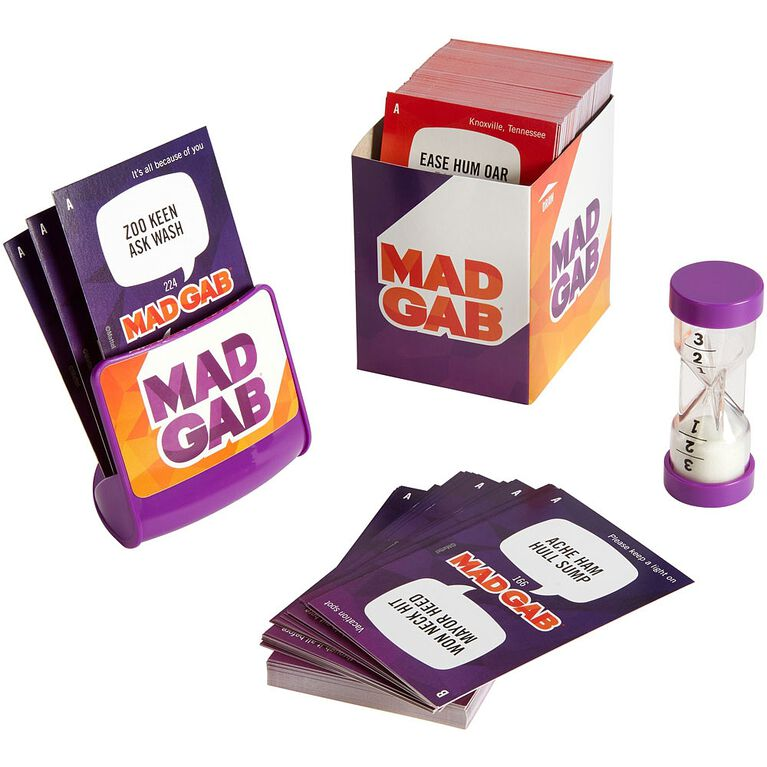 Mad Gab Game - Bilingual Edition - English Edition