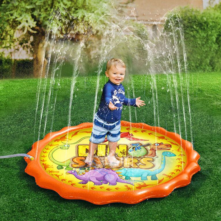 Tapis Splash Buddies Dino Sprinkler - Édition anglaise