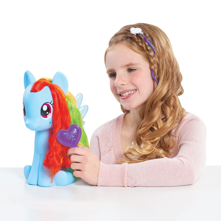 Poney de Coiffure My Little Pony - Rainbow Dash - R Exclusif