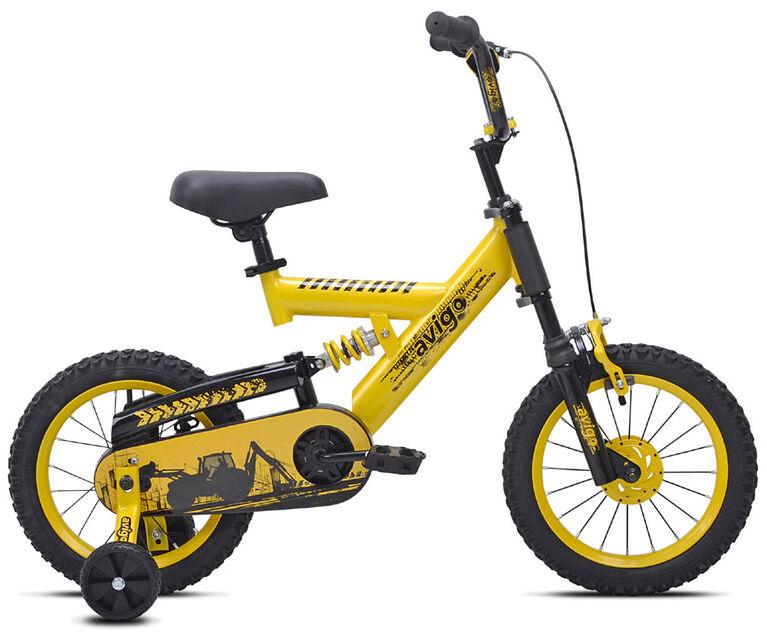Avigo Construction à double suspension - Vélo 14 po