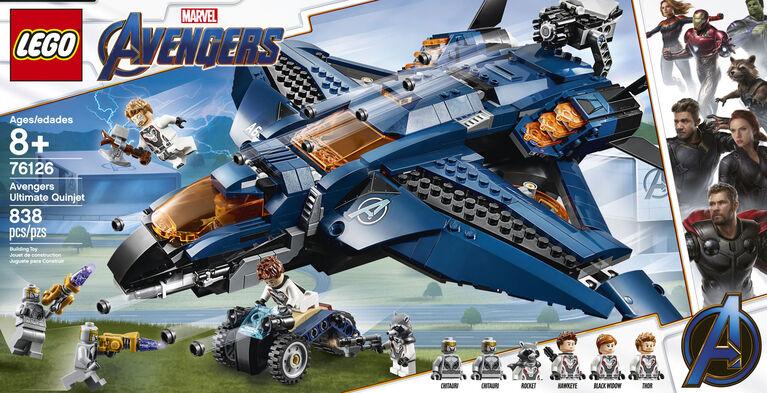 LEGO Super Heroes Marvel Avengers Ultimate Quinjet 76126