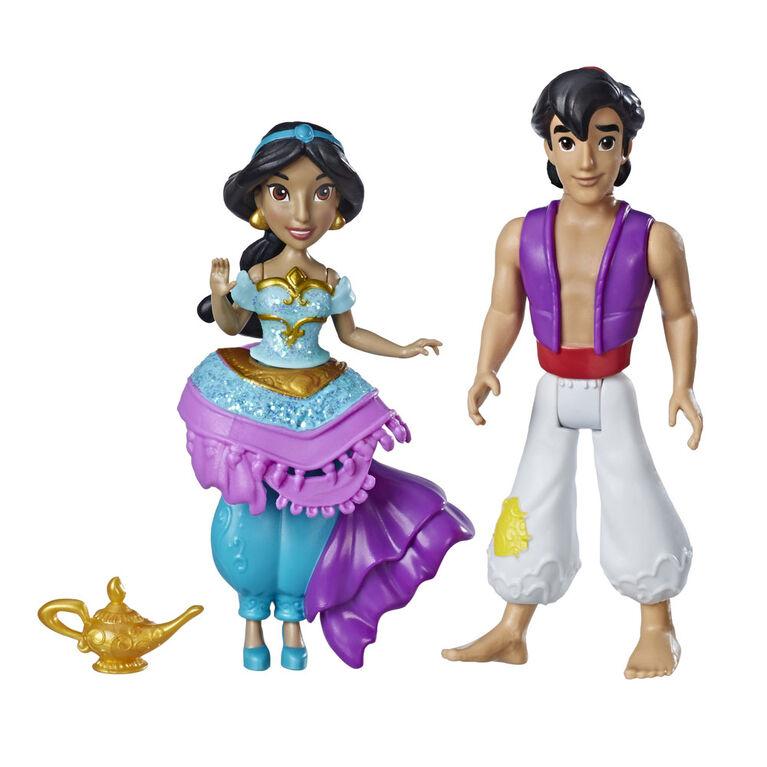 Disney Princess Jasmine and Aladdin