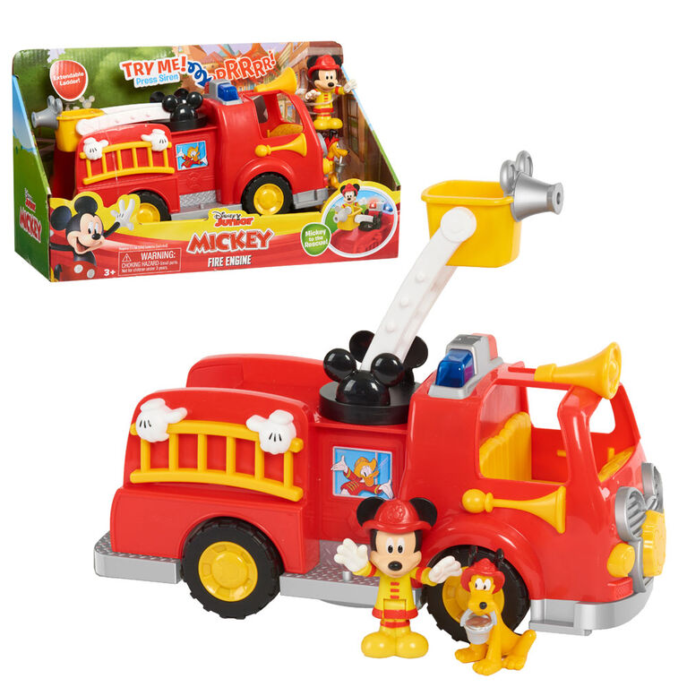 Disney's Mickey Mouse Mickey's Fire Engine