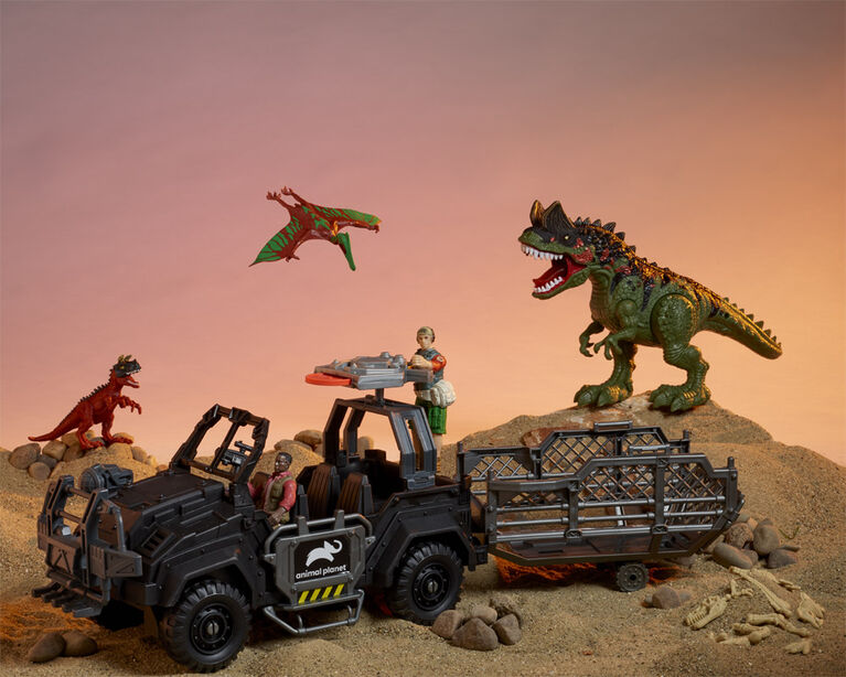 Animal Planet - Dinosaur Vehicle Playset - R Exclusive
