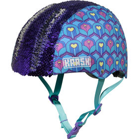 Krash - Plume jeunesse Flip Casque - Blue/Purple
