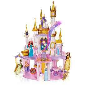 Disney Princess Ultimate Celebration Castle, Doll House with Furniture and Accessories