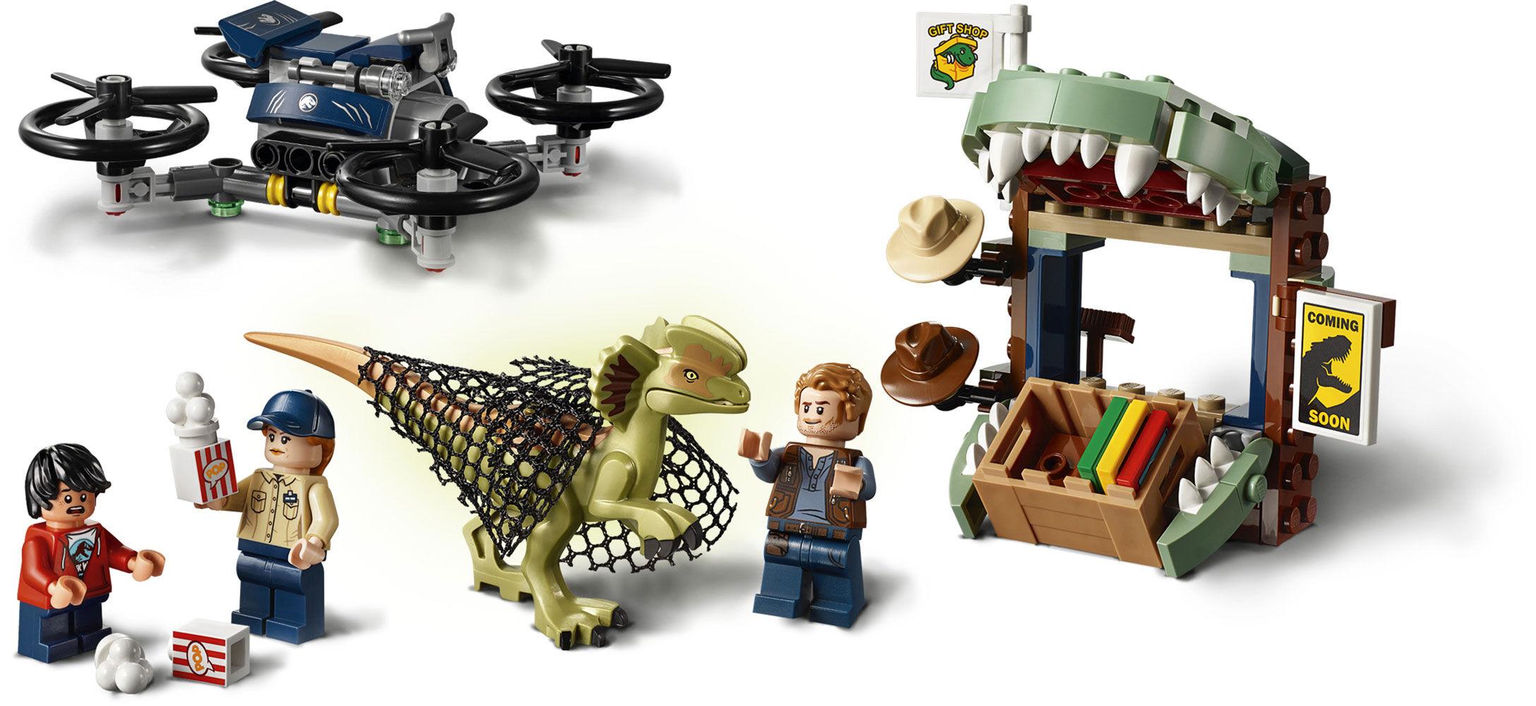 Dilophosaurus on the Loose LEGO Jurassic World 75934