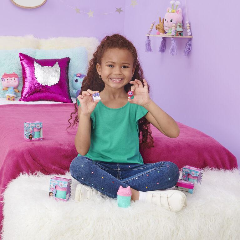 DreamWorks, Gabby's Dollhouse, Mini-figurine surprise et accessoire socle (plusieurs modèles disponibles)