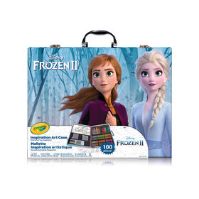 Crayola Inspiration Art Case Disney Frozen II