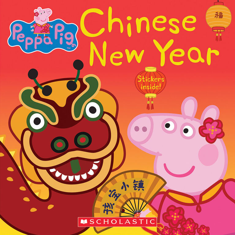 Scholastic - Peppa's Chinese New Year - Édition anglaise