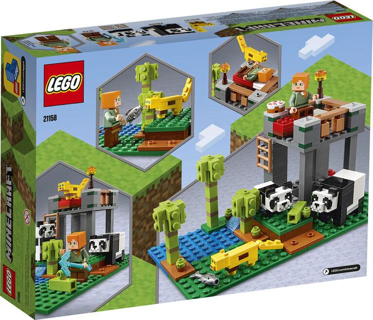 LEGO Minecraft The Panda Nursery 21158