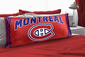 Oreiller de corps de la LNH - Montreal Canadiens