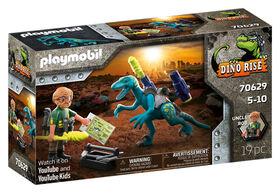 Playmobil Dino Rise - Deinonychus: Ready for Battle