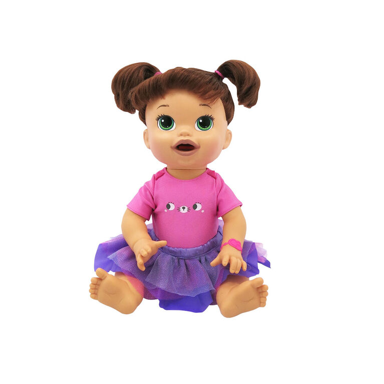 Baby Alive Outfit Pack - Pink Cat Tee & Tutu