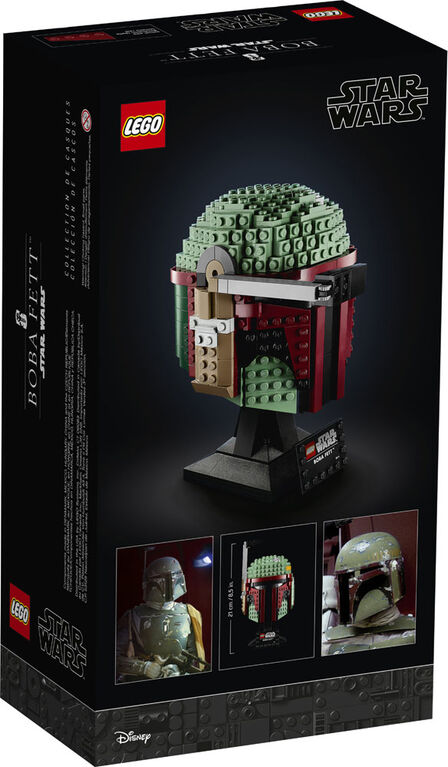 LEGO Star Wars TM Le casque de Boba Fett 75277