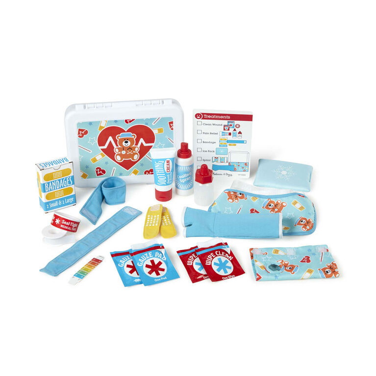 Melissa Doug Get Well First Aid Kit English Edition