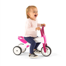 Chillafish Bunzi: 2-in-1 Gradual Balance Bike & Tricycle, Pink
