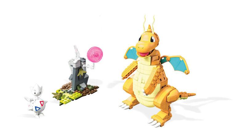 Mega Construx – Pokémon – Coffret de jeu Dracolosse vs Togetic