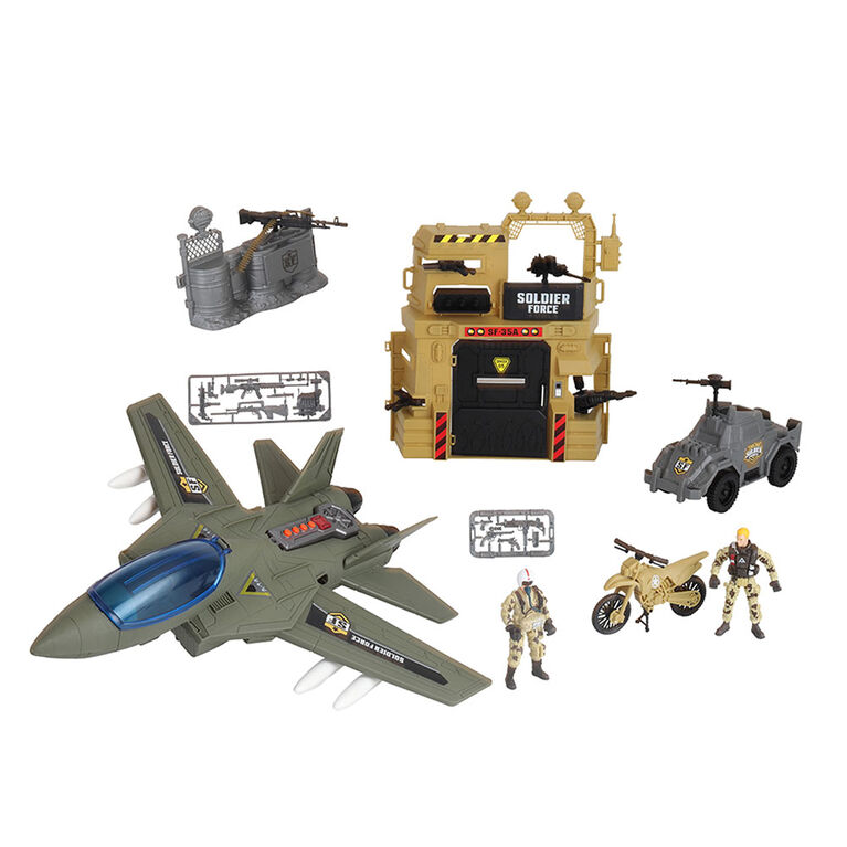 Soldier Force Bunker Air Attack Set - R Exclusive