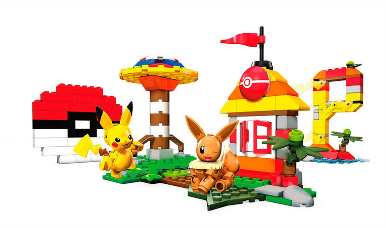 Mega Construx - Pokemon - Let's Go - Coffret de construction