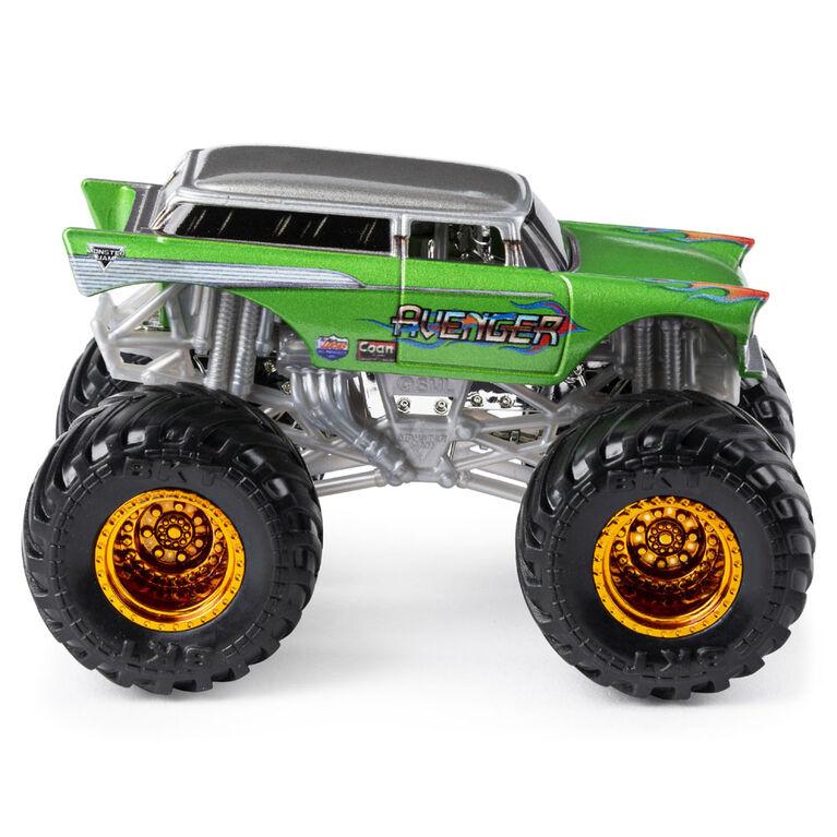 Monster Jam, Official Avenger Monster Truck, Die-Cast Vehicle, World Finals Series, 1:64 Scale