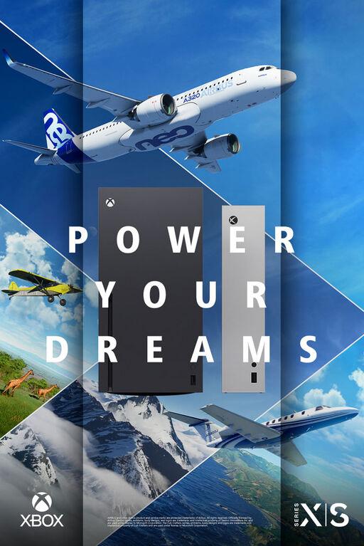 Microsoft Flight Sim (Xbox Series X Only)