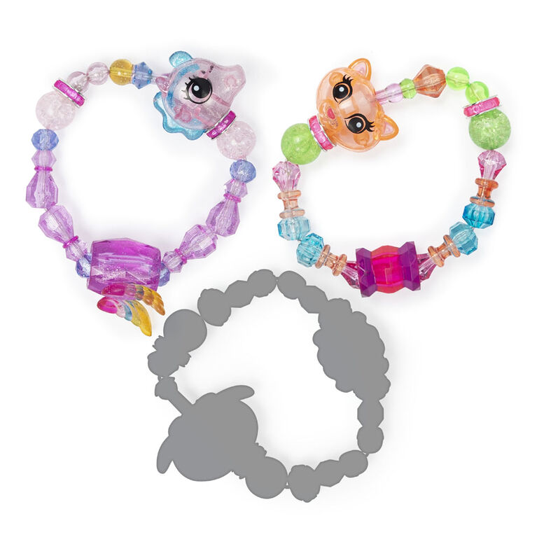 Twisty Petz, Series 2 3-Pack, Bubblegum Kitty, Sugarstar Flying Pony and Surprise Collectible Bracelet Set