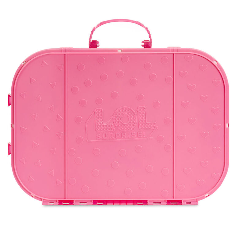 L.O.L. Surprise! Fashion Show On-the-Go Storage Case & Playset with Doll - Hot Pink