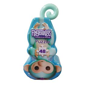 Fingerlings 48-Piece Shaped Puzzle in Shaped Tin