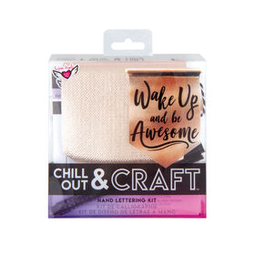 Chill Out & Craft Calligraphy Kit