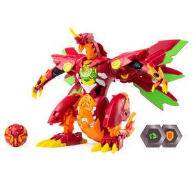 Bakugan - Figurine transformable Dragonoid Maximus de 20,3cm avec effets sonores et lumineux.