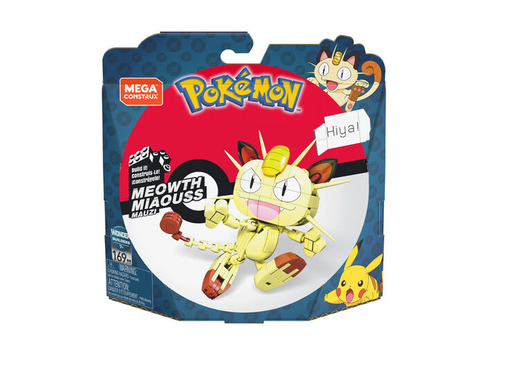 Mega Construx Pokemon Meowth